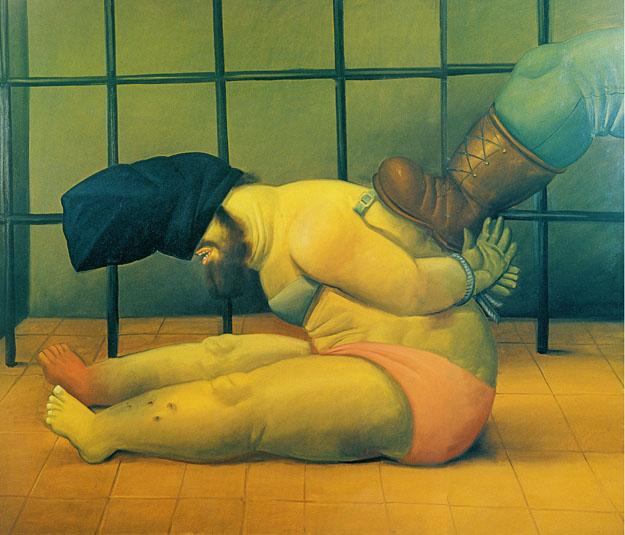 Resultado de imagen de fernando Botero Abu Ghraib