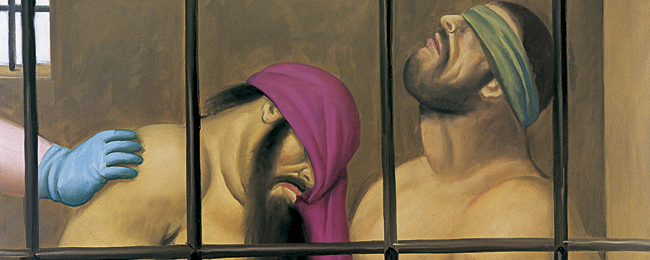 La acusaci  243 n art  237 stica de Fernando Botero  Abu GhraibFernando Botero Abu Ghraib