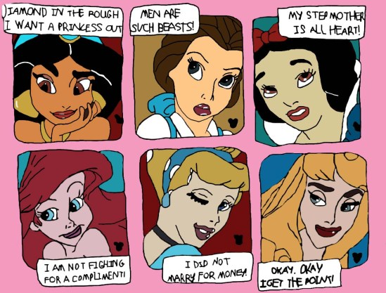las princesas de dysney: