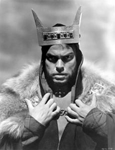 """""""Macbeth"""", representación de Orson Welles; Foto: Slant Magazine"""