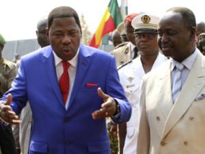 Yayi Boni y Bozize/ Fuente:  iol news