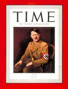 """Adolf Hitler fue nombrado """"hombre del año"""" en 1938."""