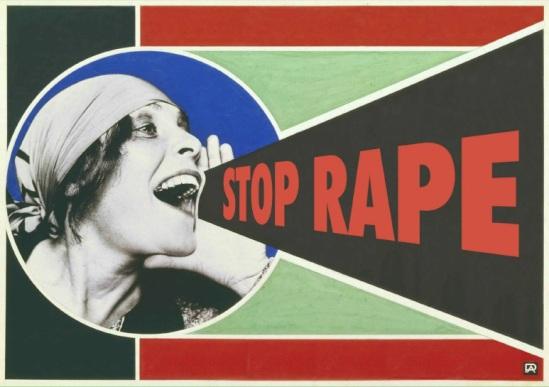 Imagen de la campaña 10 top tips to end rape