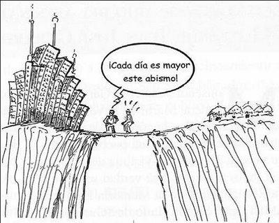 Brecha entre ricos y pobres