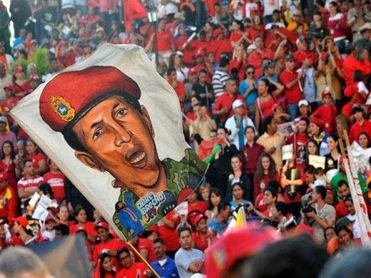 Simpatizantes de Chávez/ Fuente: Patria Grande