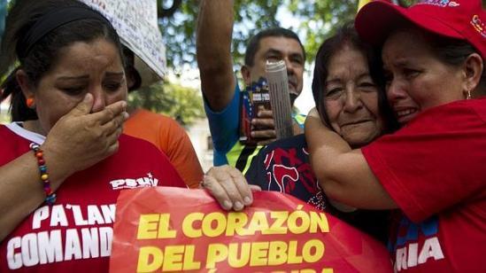Chavistas/ Fuente: ABC