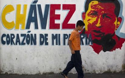Mural de Chávez/ Fuente: Foreign Affairs