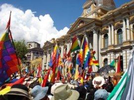 Palacio de Gobierno en La Paz, Bolivia; Foto: La Mala Palabra