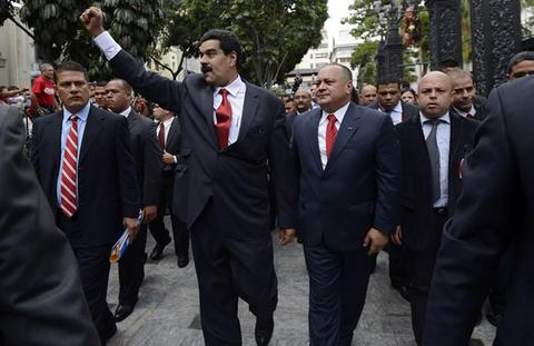 Maduro y Cabello/ Fuente: La prensa