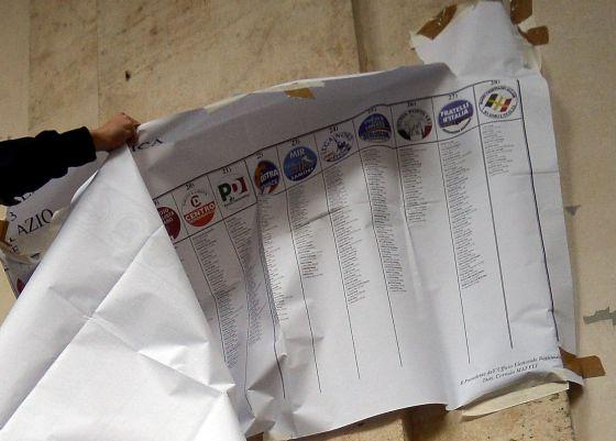 Opciones electorales/ Fuente: El País