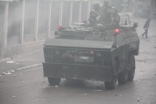 Disturbios en Túnez/ Fuente: Al Jazeera