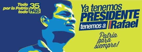 """""""Ya tenemos presidente""""/ Fuente: yatenemospresidente.info"""