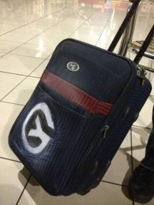 """""""Mi maleta""""; Imagen: @yoanisanchez"""