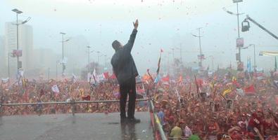 Multitud pro-Chávez/Fuente: Juventudrebelde