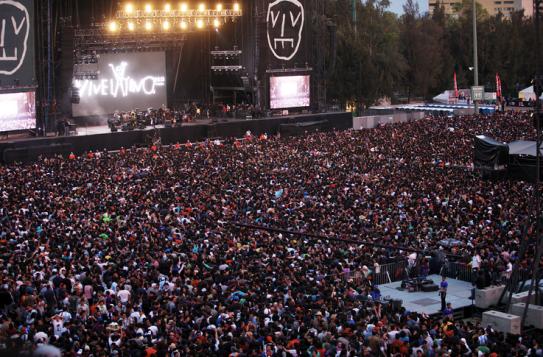 Panorámica del Vive Latino 2013; Foto: Animal Político