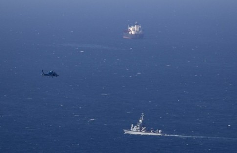 Drone en el puerto de Líbano/ Fuente: La razón