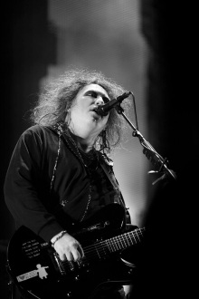 Robert Smith en México; Fotografía: Fernando Aceves