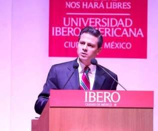 Se cumple un año de la visita de Enrique Peña Nieto a la Universidad Iberoamericana