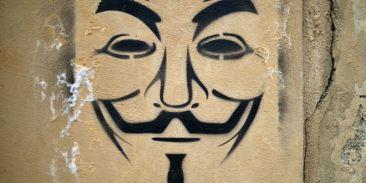 Guy Fawkes ahora es anónimo. Cortesía: AFP