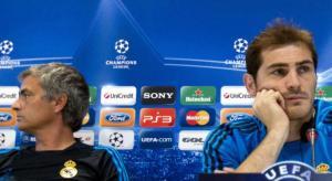 José Mourinho e Iker Casillas
